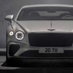 335 km/h a legújabb hatalmas Bentley végsebessége