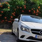 Mercedes-Benz CLA 200 teszt: sztárnak született