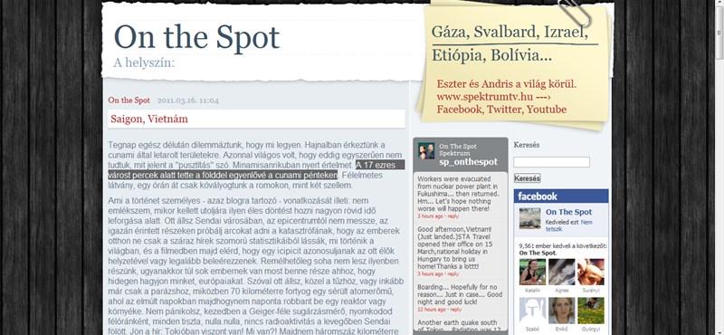 Miről meséltek az On the Spot riporterei a Corvinuson?