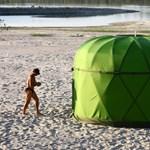 Mobiljurtát és tartásjavító hátizsákot álmodtak a magyar tervezők