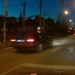 A nap videója: A pomázi BMW-s, akit nem nagyon hatott meg a zebránál álló gyalogos