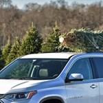 Vigyázat: 750 kilós lövedék lehet az autón szállított karácsonyfa