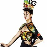 Crystal Renn logófetisizmusa a Vogue japán kiadásában