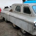 Előkerült egy titokzatos és igen furcsa szovjet autó, mutatjuk