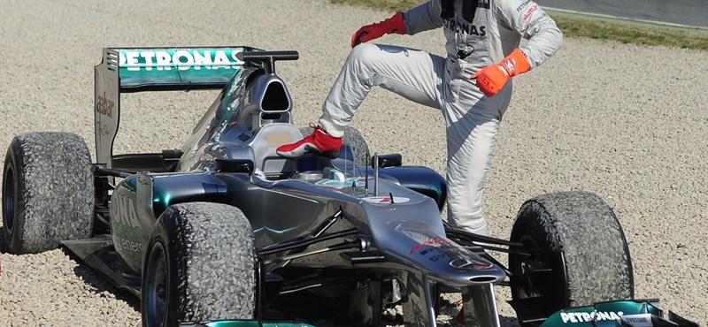 F1: Alonso nem panaszkodik, pedig...