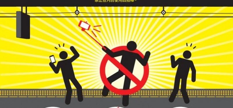Japán: vigyázz a szelfibottal, ha jön a vonat!