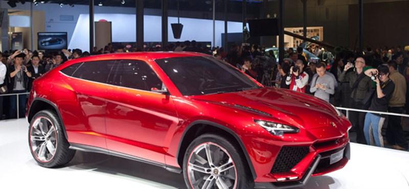 Leghamarabb 2017-ben jöhet a Lamborghini SUV
