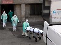 849 ember halt meg koronavírusban egyetlen nap alatt Spanyolországban