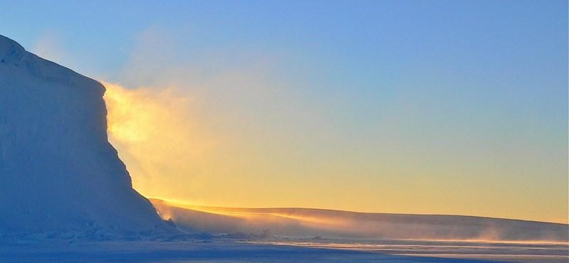 A globális felmelegedés miatt mire odaérne a jég az Északi-sarkvidékre, már elolvad