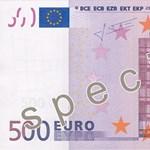 Szétvágott 500 eurós bankjegyektől dugult el több wc