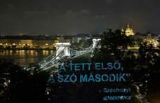 Széchenyivel üzent a Greenpeace a kormánynak