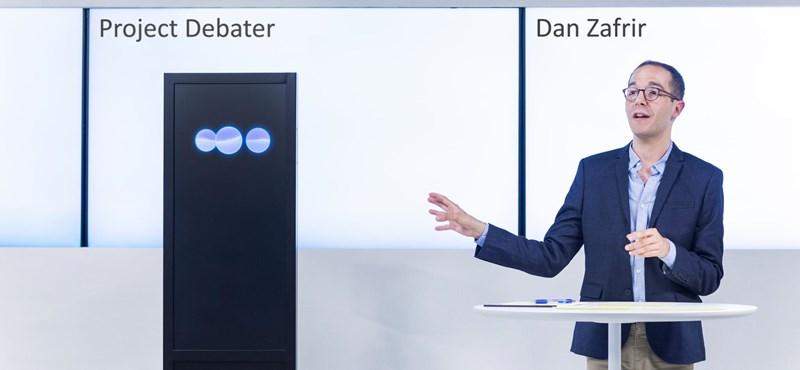Már ott tart a mesterséges intelligencia, hogy simán leérveli egy vitában az embert