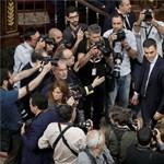 Plágiumvita: egymást savazza Spanyolországban a kormány és az ellenzék
