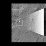 A nap képe: műholdas fotó a Curiosity marsjáró landolásáról