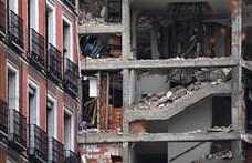 Robbanás történt egy hatemeletes házban Madrid belvárosában