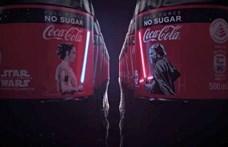 Kijelzőt rak a kólásüvegekre a Coca-Cola az új Csillagok háborúja miatt