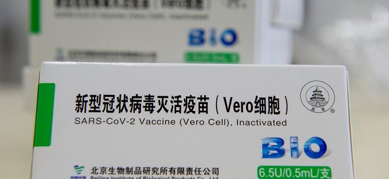 Kína is hálás lehet, hogy Magyarország engedélyezte a vakcináját