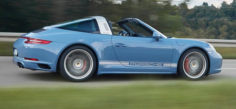 Százdarabos retroszériát csináltak a Porsche 911 Targából