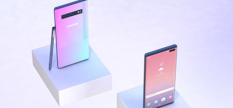 Kiszivárgott egy fotó a Samsung új, nagyobb csúcstelefonjáról