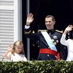 Fotó: íme az új királyi család