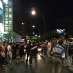 Hiába a féktelen ünneplés Budapesten, nem volt rendbontás