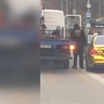 Aranyozott Merciben, részegen menekült egy orosz ketrecharcos – videó