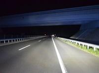Lezárták az M3-as autópályát Hajdúnánásnál baleset miatt