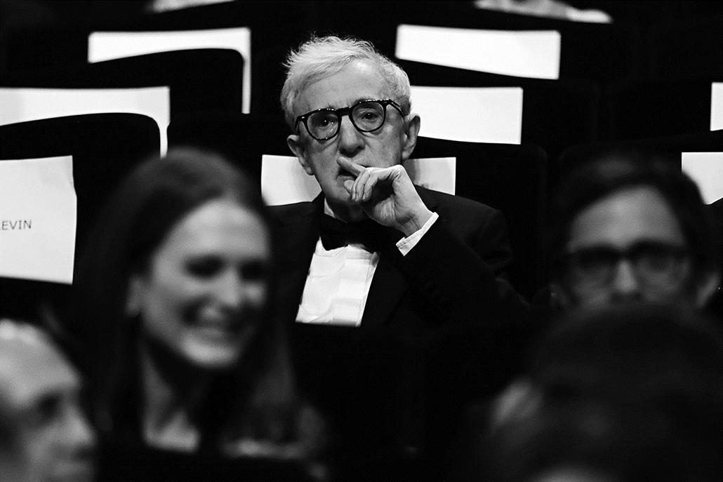 afp.16.05.21. - Woody Allen - Cannes-i Filmfesztivál feketén-fehéren, Nagyítás