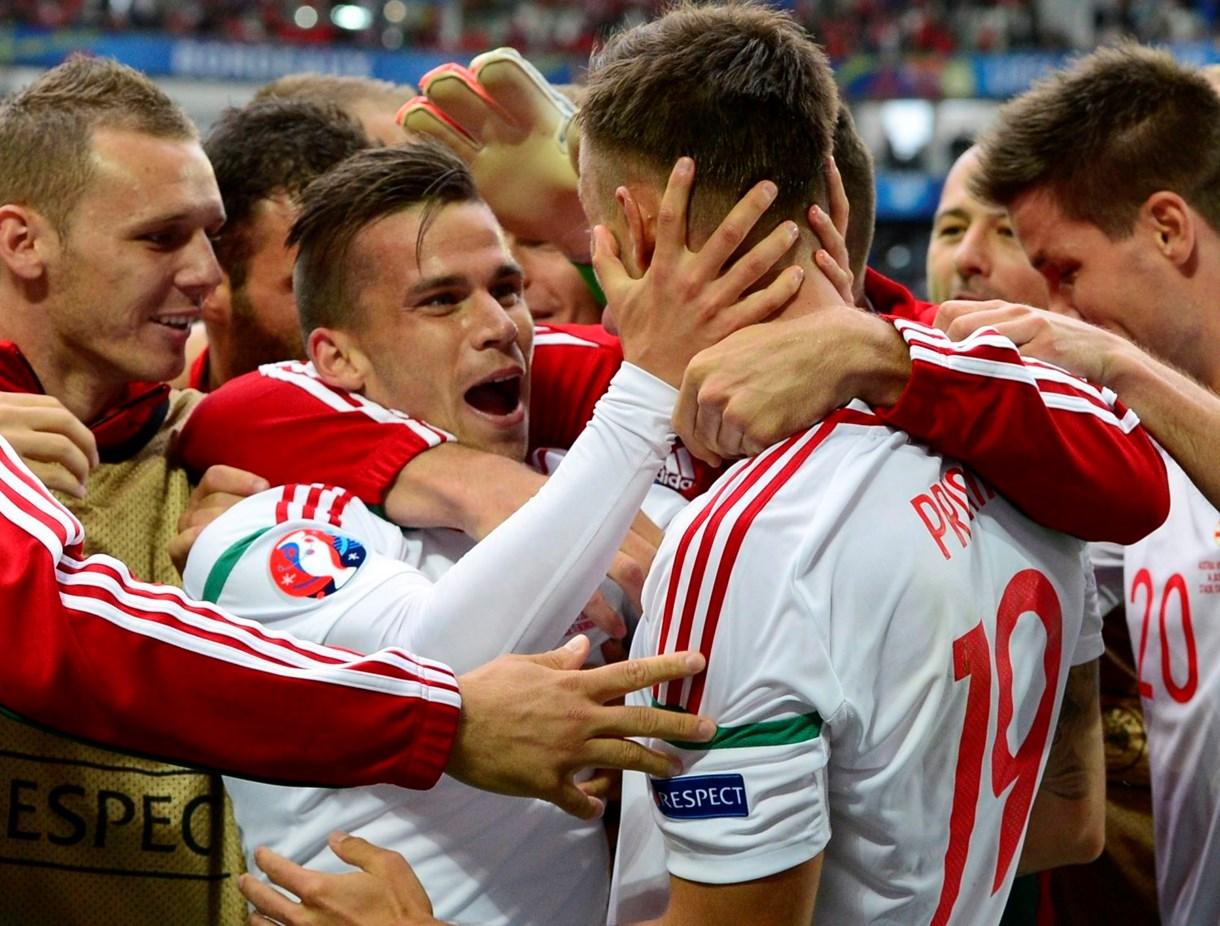 Magyarország-Ausztria 2-0 - A mérkőzés képekben