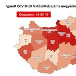 Koronavírus: 468-cal nőtt az aktív esetszám, ketten haltak meg