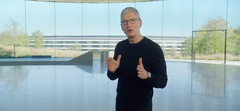 Az Apple-t vezető Tim Cooknak pár e-mailjébe került elkaszálni egy egész sorozatot