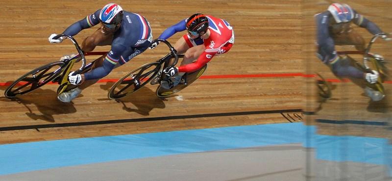 Két kerékpáros vb-aranyat elvettek a franciáktól