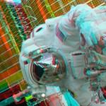 Az első élő 3D-s közvetítés a Nemzetközi Űrállomásról