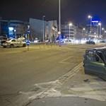 Súlyos sérültek egy Váci úti balesetben