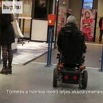 3-as metró: valaki megtorpedózta az akadálymentesítésről szóló népszavazást