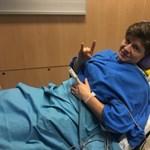 Megjött a diagnózis, Miklós Edit keresztszalag-szakadást szenvedett