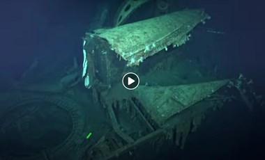 Videó: 5,5 km mélyen találtak meg egy 2. világháborús japán hadihajót