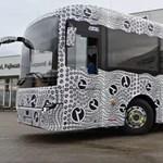 Intercity buszt is tesztel a debreceni buszgyár