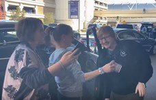 Dobó Kata szelfizett egyet Ed Sheerannel, de kiderült, átverték (videó)