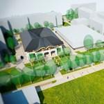 Fotók: Újabb Makovecz-épületet építenek meg