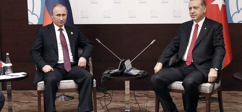 Végre leült egymással Oroszország és Törökország