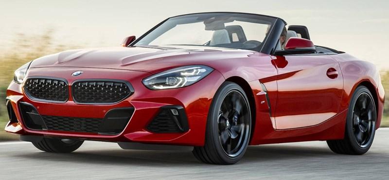 Hivatalos: íme teljes pompájában az új BMW Z4