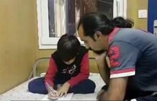 Magyar siker: a BBC is foglalkozik a röszkei tranzitzónában ragadt apával és fiúval