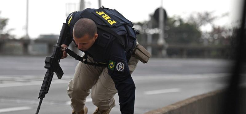 Túszokat ejtettek egy buszon Rio de Janeiróban
