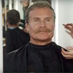 Olyat ment David Coulthard egy balesetbiztonsági filmben, hogy betiltották – videó