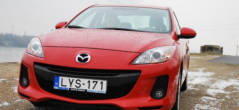 Mazda 3 teszt: felejtős a dízel