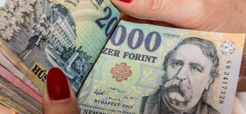 318 forint közelében jegyzik reggel az eurót