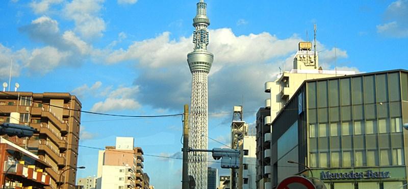 Megépült a világ második legmagasabb építménye, a Tokyo Sky Tree