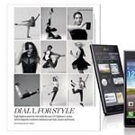 Divatfotó-sorozatban debütálnak az LG Optimus L-Style okostelefonok