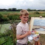 Kilencéves, de már tízmilliókat keres festményeivel